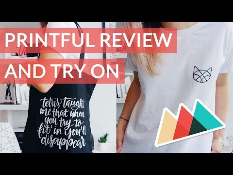 Printful Review And Try On