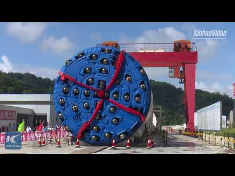Construction of China's longest rail tunnel in full swing