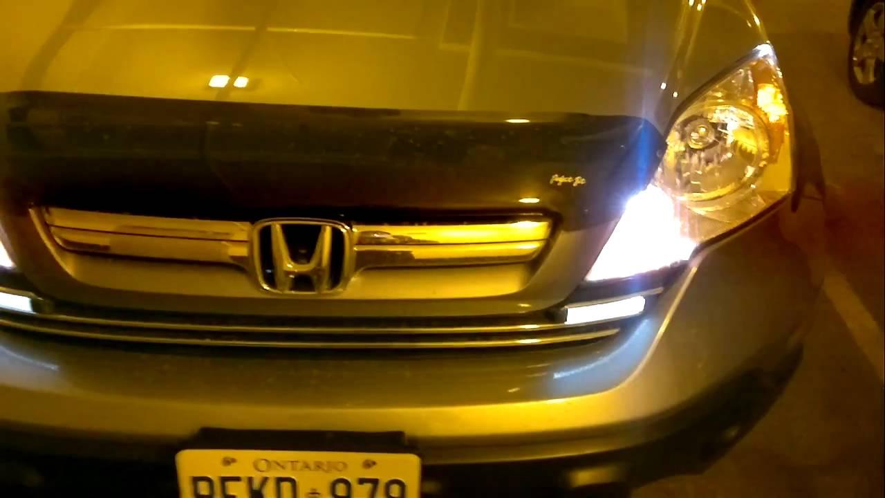 2008 Honda Cr V Custumized Light Youtube