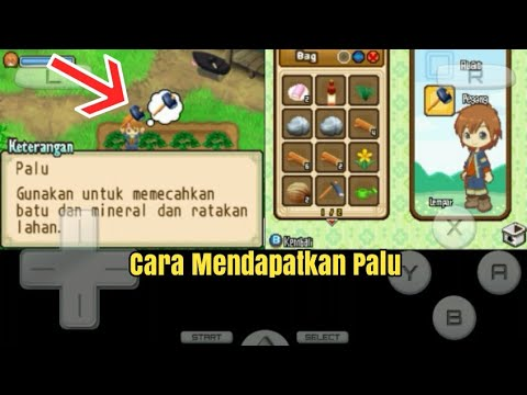 Cara Mendapatkan Palu Harvest Moon The Tale Of Two Towns Indonesia Youtube