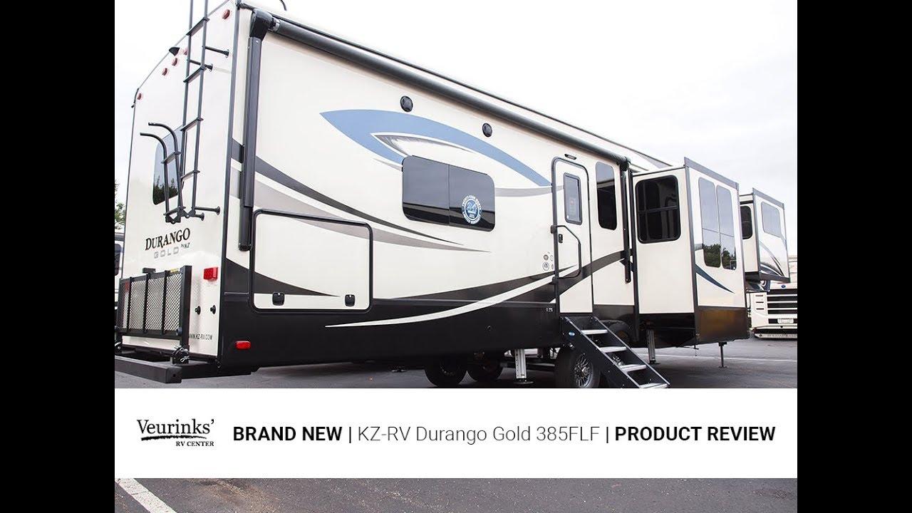2018 KZ-RV Durango Gold 385FLF | Front Living Fifth Wheel | Veurinks ...