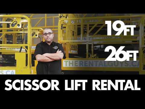 Scissor Lift Rental