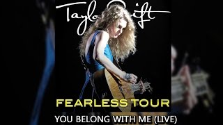 Taylor swift - you belong with me fearless tour (audio)