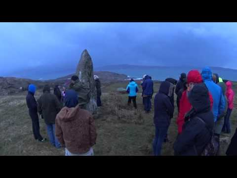 Easter Sunday Morning at the Standing Stone Bere Island 2016