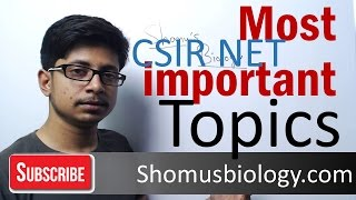 How to find most important topics for CSIR NET exam syllabus - CSIR NET life science tips and tricks