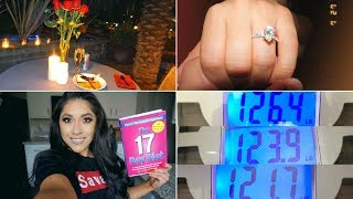 VLOG #22 LOSING WEIGHT + ENGAGED + UNBOXING PACKAGES   CELINA MENDOZA