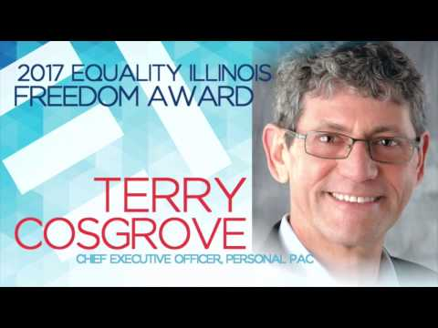 Equality Illinois 2017 Gala - Freedom Award to Terry Cosgrove