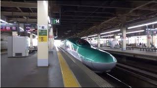 東北新幹線 E5系 大宮駅発車