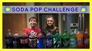 GUESS THE SODA POP CHALLENGE