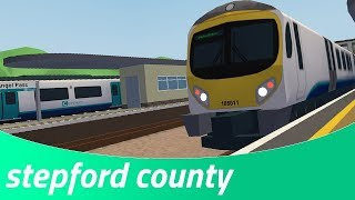 Connect Route: Coxly to Rocket Parade I Stepford County Railway I Roblox