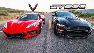 C8 CORVETTE VS 2020 GT500 // Suŗpŗising Results!