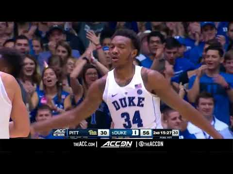 Pittsburgh vs Duke College Basketball Condensed Game 2018
