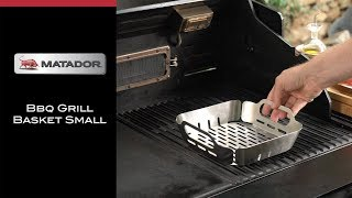 How to Use the Small Matador Grill Basket - Matador BBQs