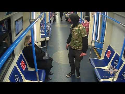 Сотрудники уголовного розыска задержали подозреваемого в хулиганстве на Московском метрополитене