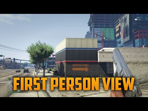 "GTA 5 NEXT GEN ""HOW TO ENTER FIRST PERSON VIEW MODE"" Interactive Menu Tips"