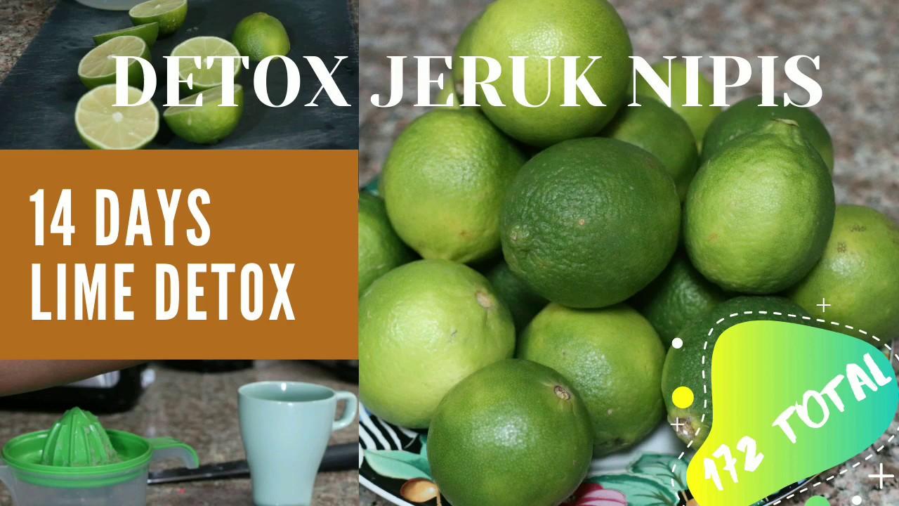Program 14 Hari Detox Jeruk Nipis Lime Detox Program