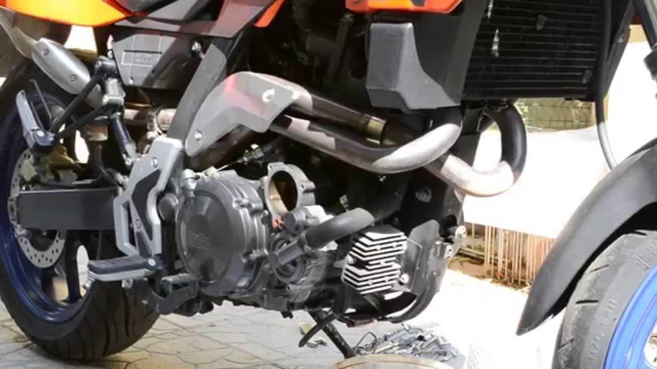 Yamaha Moto   Oil Change