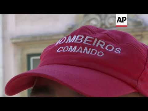 Portugal's heroic firefighters work for free