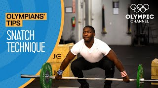 How to Master tнe Snatch in Olympic Weightlifting | Olympians' Tips