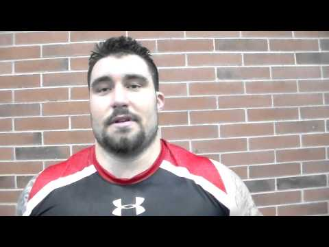 Sam Brenner Interview Pro Day