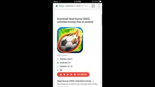 Gambar cover How to download head soccer mod apk