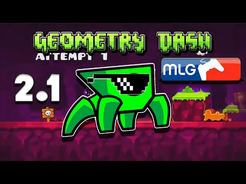 (YTP) MLG Geometry Dash 2.1 Sneak Peek -  ByRaspy