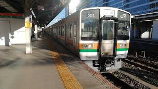 211系K105✙K111✙313系B6編成回送列車名古屋10番線発車