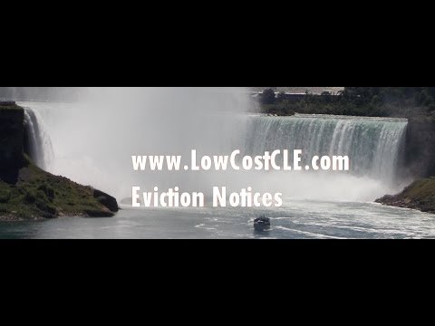 2016 Washington State Eviction Notices CLE, presented 12/31/2015