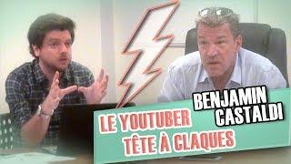 Pranque : Le Youtuber tête-à-claques VS Benjamin Castaldi
