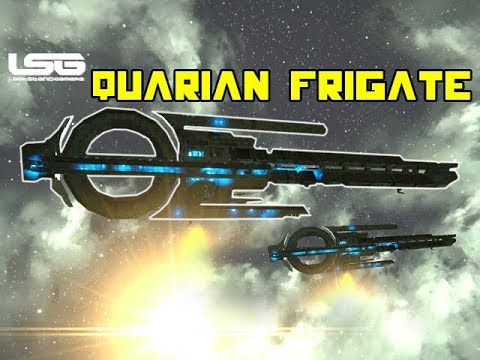 Quarian Frigate Mass Effect - Space Engineers