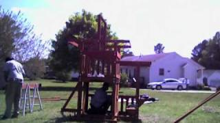 How To Build A Meridian Swing Set