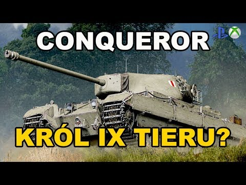 Conqueror Król IX tieru ?World of Tanks Xbox One/Ps4 thumbnail
