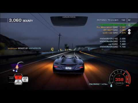 Need for Speed Hot Pursuit | Elites vs Wannabe Elites Sovereign | Gameplay 2017