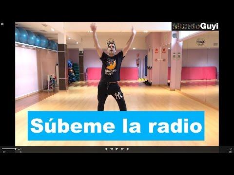 """Súbeme la radio"" (Enrique Iglesias) CoreoFitness ""Mundo Guyi"""