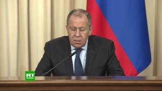 Moscou : conférence de presse de Sergueï Lavrov et Ramtan Lamamra