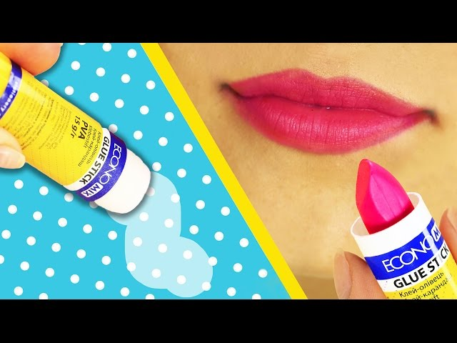 10 DIY Weird Back To School Supplies You Need To Try — Makeup!