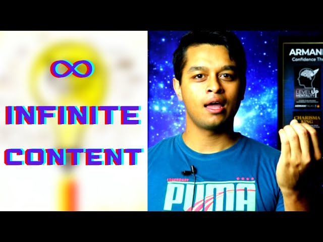 CHEAT CODE for Infinite Content Creation to grow your Brand