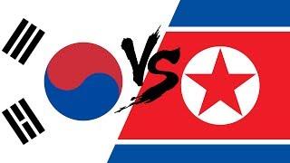 Южная Корея VS Северная Корея | Противостояние