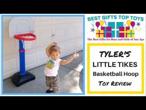 """tyler's-little-tikes-basketball-hoop-for-toddlers-review---""""he-shoots,-he-scores!"""""""