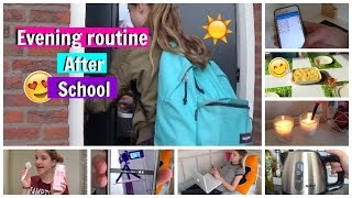 Evening Routine After School 2016! | BeautyDress