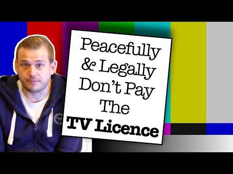How To Legally & Peacefully Avoid Paying For A TV Licence 2018