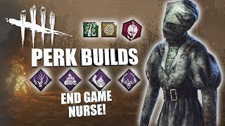 END GAME NURSE! | Dead By Daylight THE NURSE PERK BUILDS