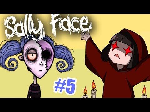 КАК ВЕРНУТЬ САЛЛИ? Прохождение игры Салли Фейс - Sally Face Эпизод 5 часть 4