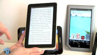 7 Tablets Smackdown: Kindle Fire, Nook Tablet, Samsung Galaxy Tab 7.0 Plus and HTC Flyer