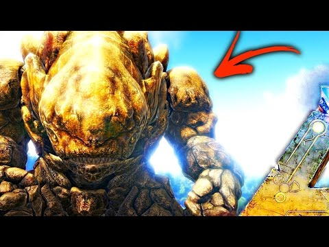 ARK Survival Evolved  - ROCK GOLEM TAMING, SCORCHED EARTH CONVERSION MOD ( Modded Gameplay S1EP25 )