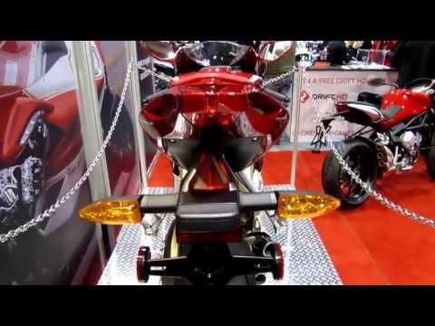 2013 MV Agusta F3 Series Oro  Video