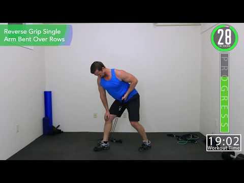 27 Minute Upper Body Destroying workout Resistance Bands