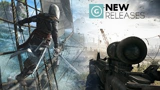 New Releases: Assassin's Creed IV: Black Flag, Battlefield 4 and Football Manager 2014!