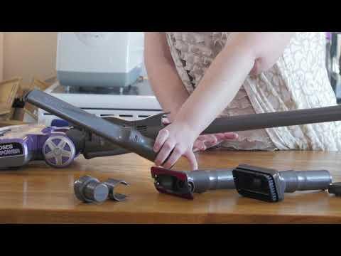 Shark Rocket™ DeluxePro Ultra-LightStick Vacuum - Solaine's Testimonial