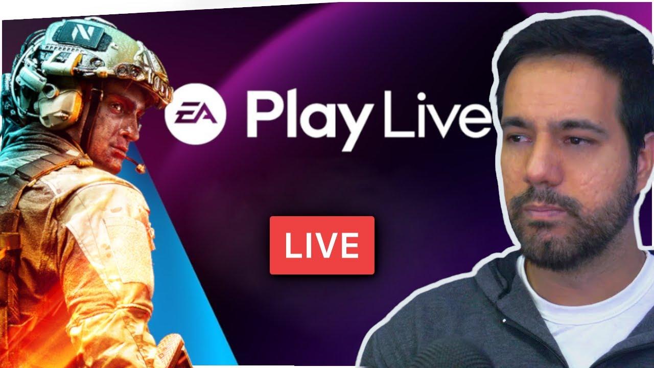 EA PLAY LIVE - NOVIDADES e GAMEPLAY de FIFA 22/Battlefield 2077. Acompanhe com a gente.